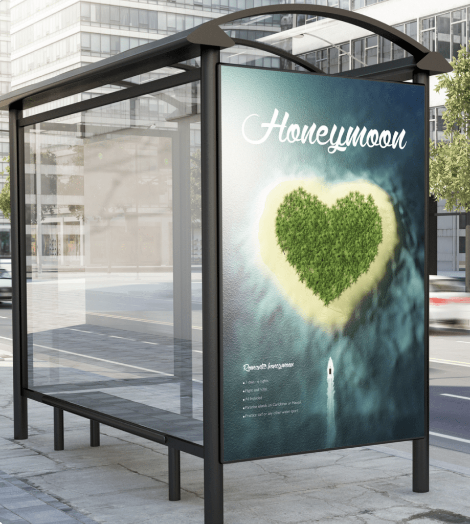 Citylight Poster Druck